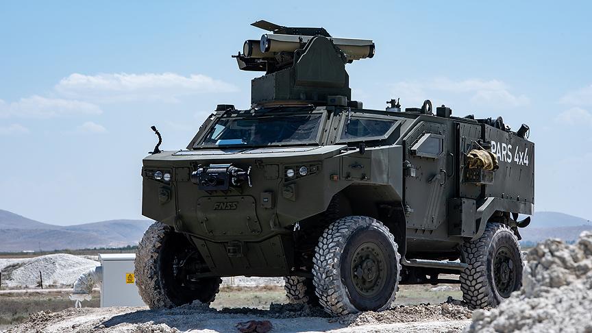 Türkiye'nin yeni nesil tank avcıları testlerde başarılı bir sınavverdi
