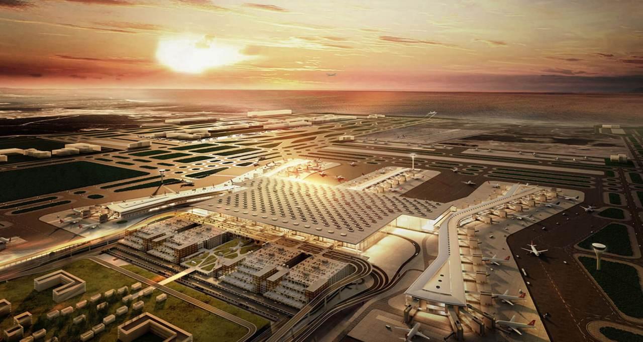 İstanbul' daki Yeni 3. Havalimanı'nın İlk Reklam Filmi de YayınlanmışOldu