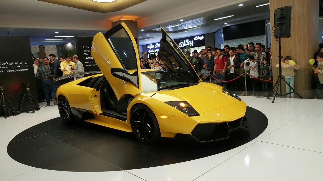 İran Yerli Otomobil Üretiminde Çıtayı Aştı ve Lamborghini Murcielago' yuKopyaladı