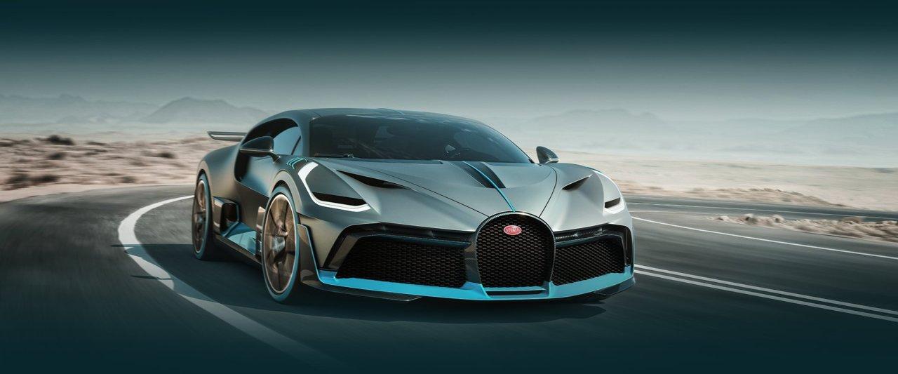 Bugatti 110. Yıl Şerefine Özel DivoModeli