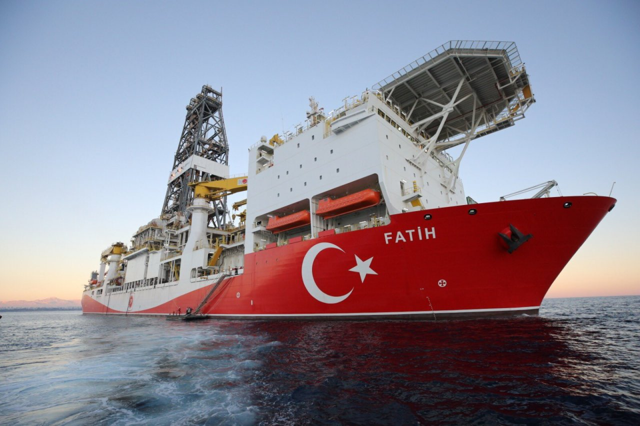 Milli Sondaj Gemisi Fatih Akdeniz'de İlk SondajınaBaşlıyor