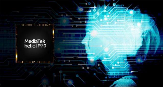 MediaTek yapay zeka destekli yeni Helio P70 mobil işlemcisinitanıttı