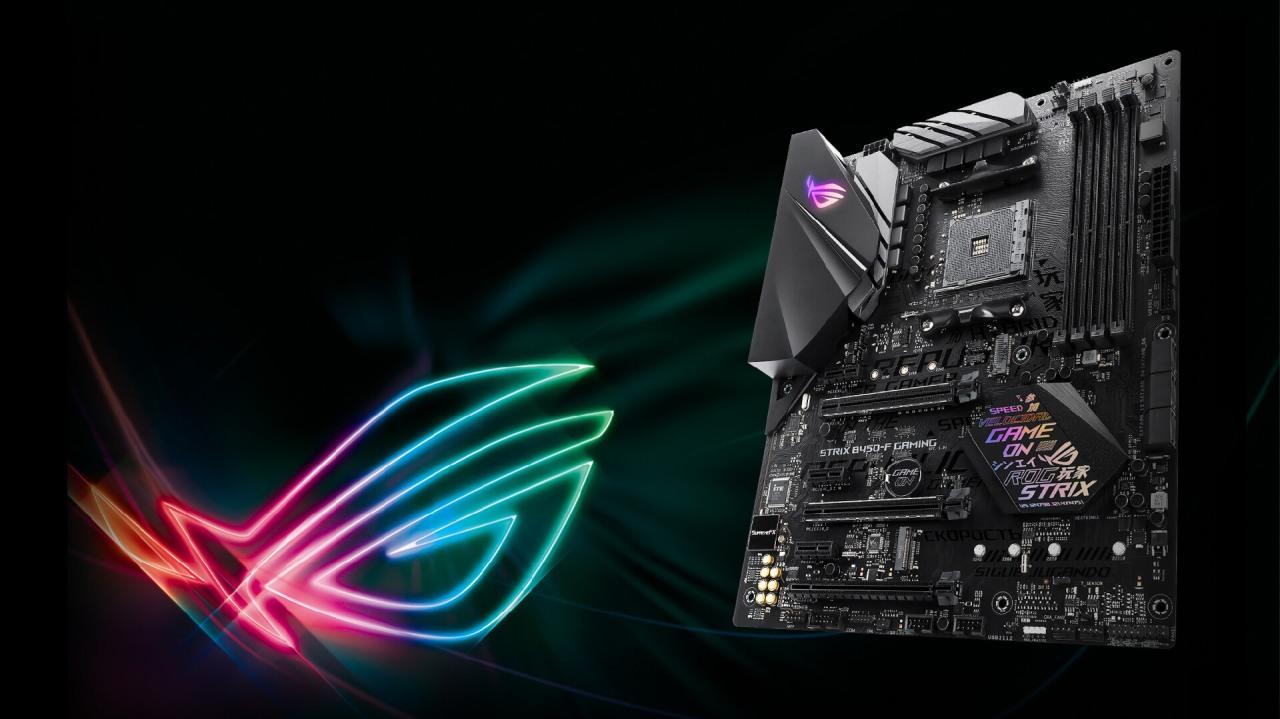 Asus'tan  AMD B450 çipsetli iki yenianakart