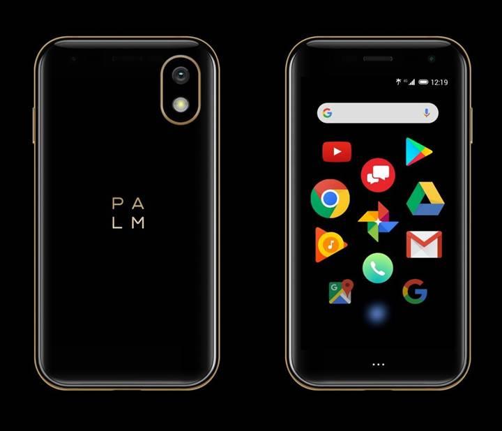 Palm Şirketi, Büyüklüğü Kredi Kartı Boyunda Olan Android Tabanlı TelefonuTanıttı