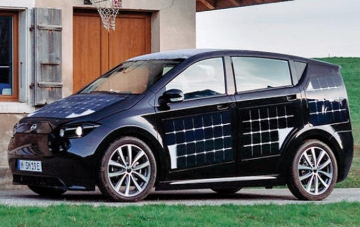 Sono Motors'un Aracı güneş Enerjisiyle ŞarjOlacak