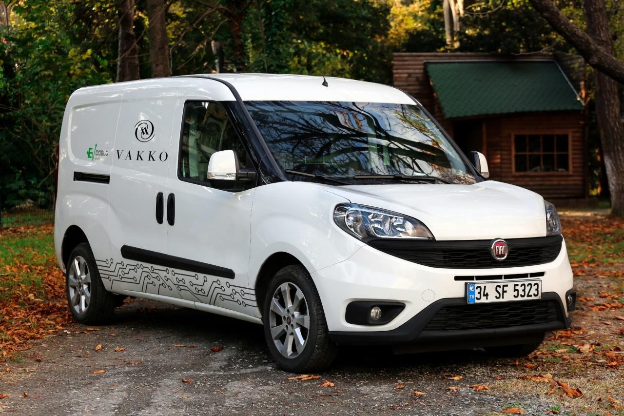 Tofaş Fiat Vakko İçin Doblo Cargo Modelini Elektrikli AracaDönüştürdü