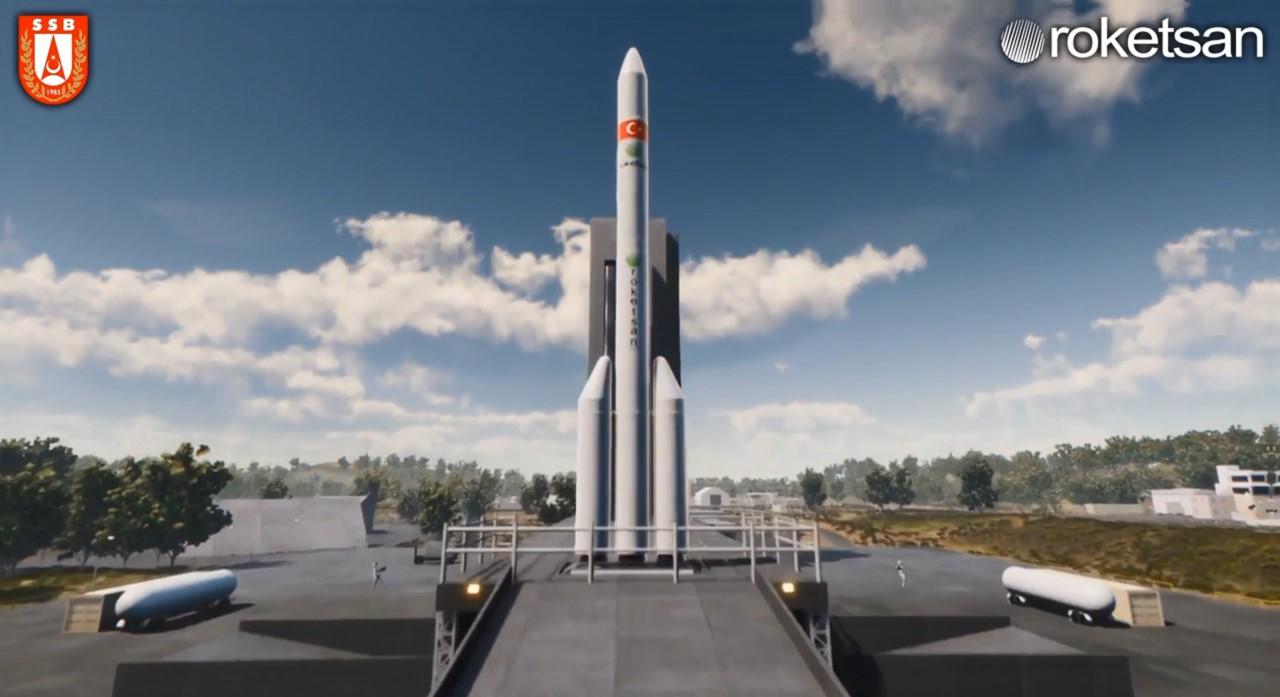 Savunma Sanayii Başkanlığı ile Roketsan arasında Mikro Uydu Fırlatma Sistemi (MUFS) Geliştirme Projesi için İmzalarAtıldı.