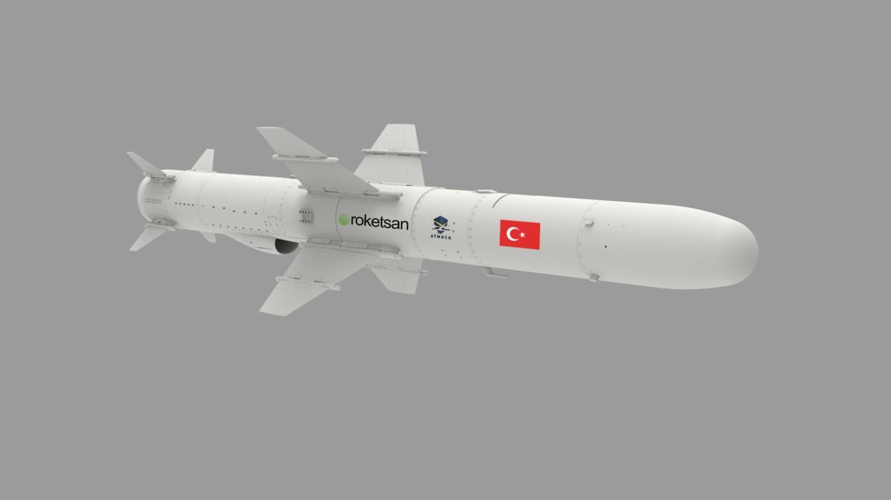Atmaca Gemi Savar Füzesi Seri ÜretimeGeçiyor