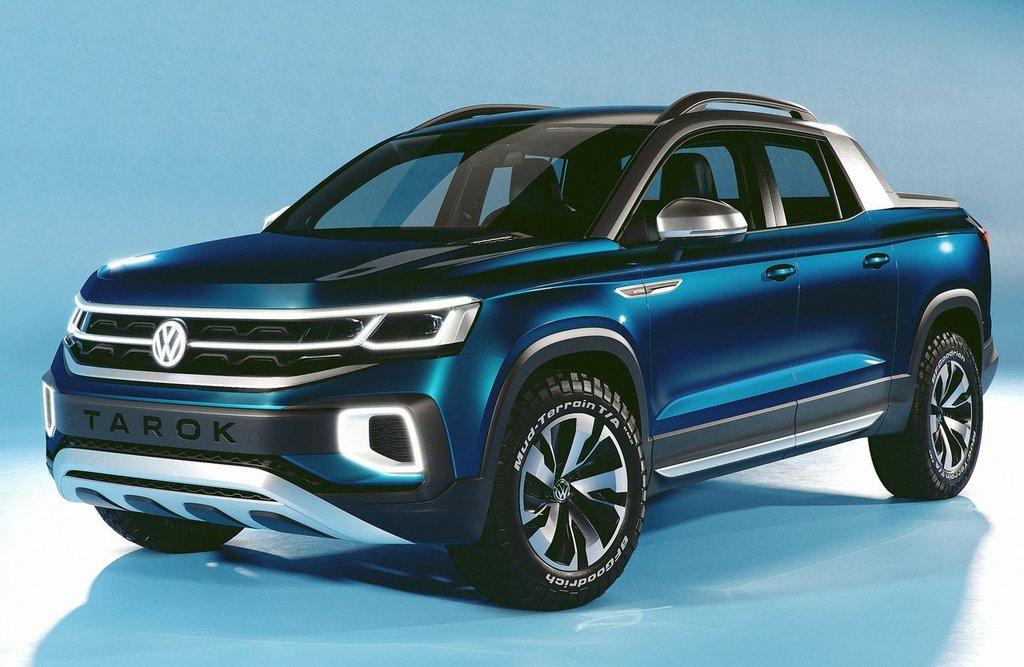 Volkswagen Yeni Pick-Up Modeli Olan Tarok'uTanıttı