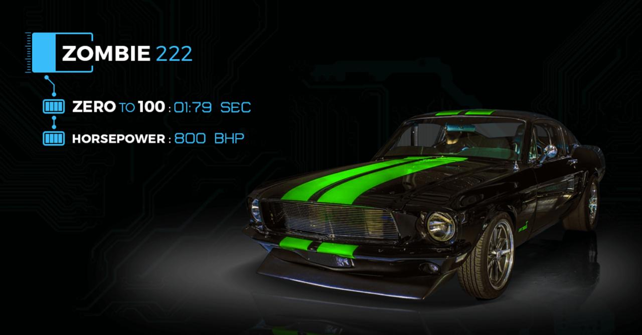 Zombie 222 Dünya'nın En Güçlü ElektrikliAracı